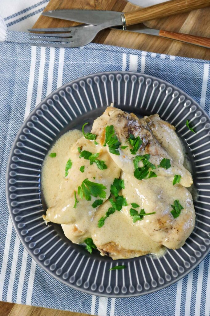 Chicken in peanut butter sauce recipe