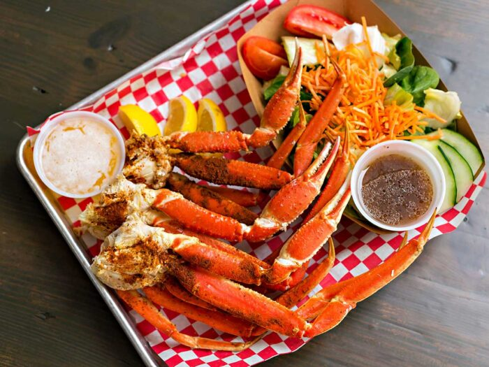 The Lobster Shack, Snow Crab Dinner