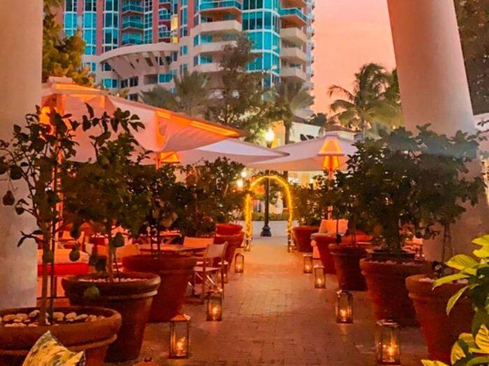 Amare Ristorante, Miami Beach