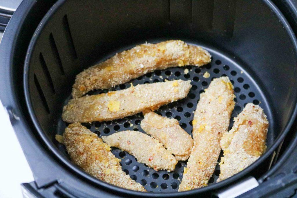 Air Fryer Chicken Tenders and Fries Recipe
