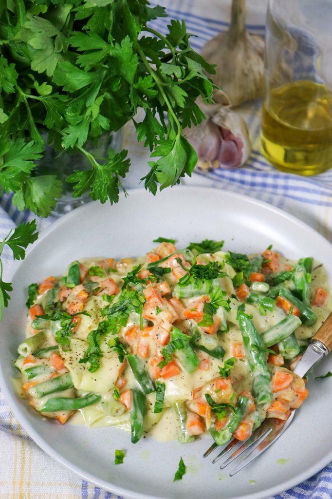 Zucchini Tagliatelle Recipe