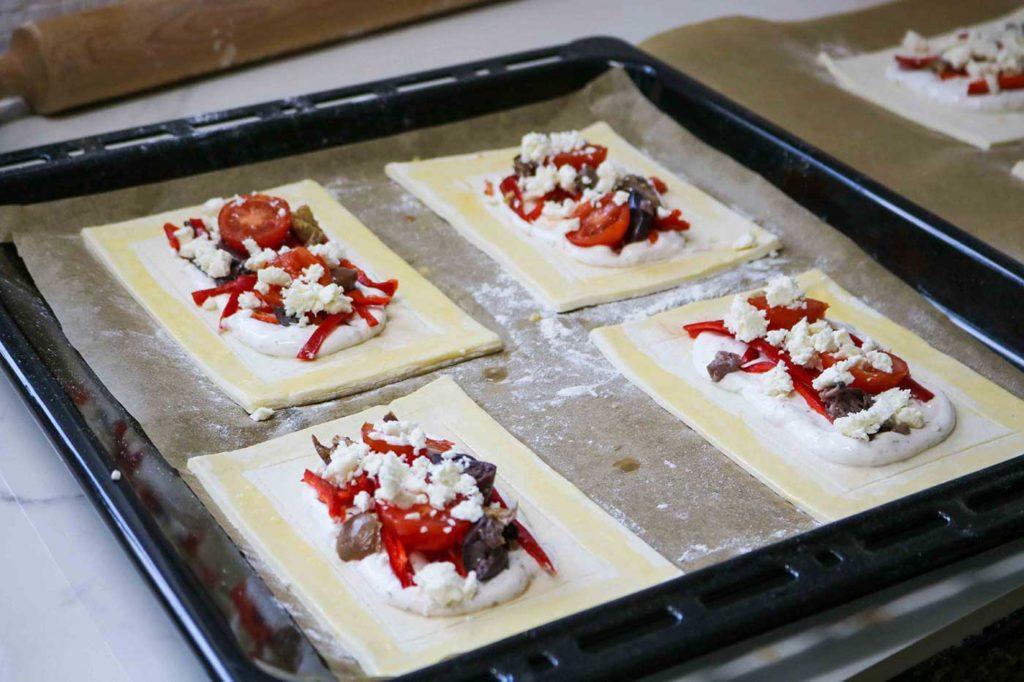Mediterranean tarts recipe step by step