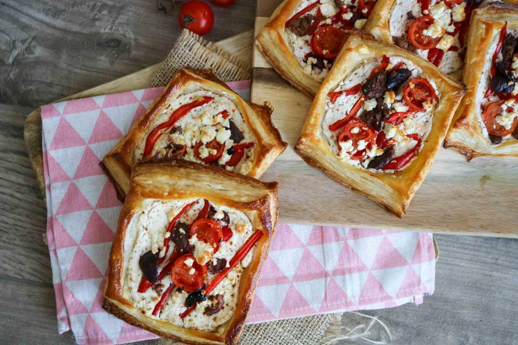 Mediterranean tarts recipe