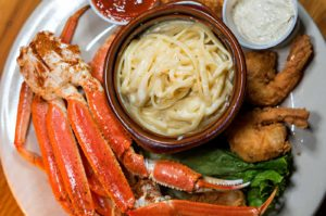 Snow Crab and Shrimp, Cj's Crab Shack, Ocean Drive, Miami Beach