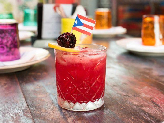 Rum Punch - La Placita, Miami