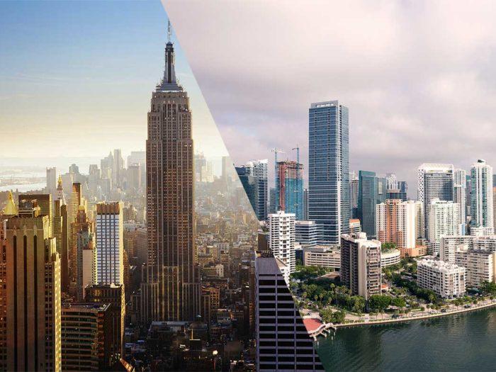 New York restaurants in Miami