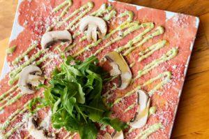 Beef Carpaccio - The Wagyu Bar